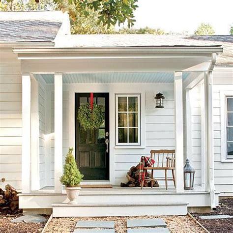 side porches simple farmhouse side porch farmhouse renovations pinterest