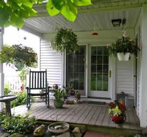 English Cottage Front Porches