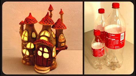 diy fairy house lamp  coke plastic bottles youtube