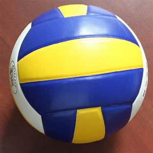 New Official Size Volleyball Game Ball Indoor Soft ...