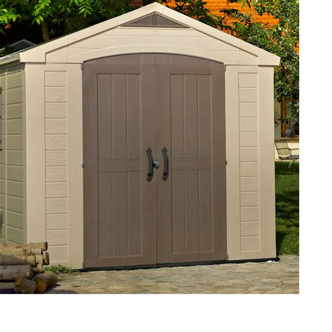 plastic sheds 8x6 factor apex plastic shed departments diy at b q