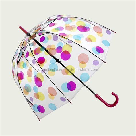 ombrello a cupola ombrelli di plastica trasparenti ombrello trasparente di