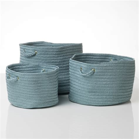 soft baskets storage woven federal basket