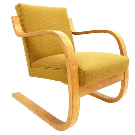 Alvar Aalto Stuhl by Early Alvar Aalto Model 402 Chair For Artek Finland With