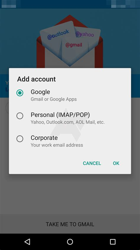 stock android email app gmail 5 0 will support exchange obviate the stock email