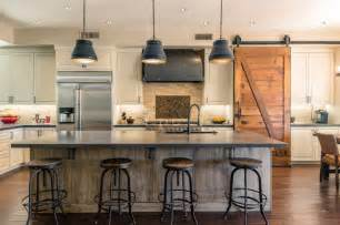 Houzz Living Rooms Traditional by Gilbert Industrial Farmhouse Kitchen And Game Room