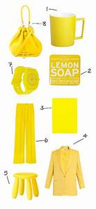 color of the week: lemon zest yellow