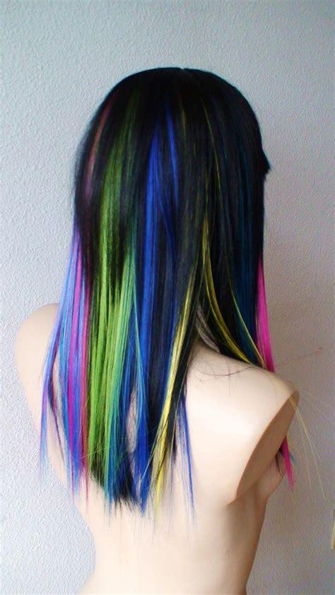 17 Best Ideas About Rainbow Highlights On Pinterest