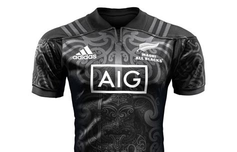maori  blacks jersey revealed radio  zealand news