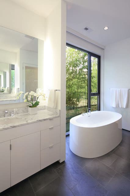 Modern Bathroom In Valley by Valley House Modern Bathroom Raleigh By