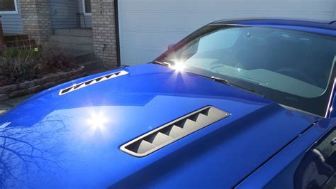 Marvelous Vents For Mustang Hood Aluminum For Vent Hood