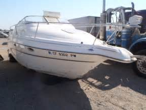 Boat With Salvage Title by Copart Usa Boats For Sale Boat Auctions