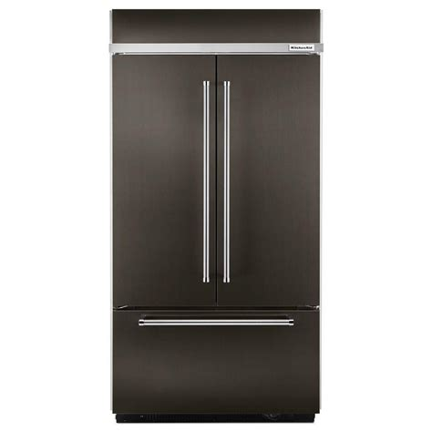 kitchenaid refrigerator door kitchenaid 42 in w 24 2 cu ft built in door