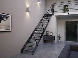 Escalier Métallique Industriel : acheter un escalier m tallique structure seule stairkaze ~ Melissatoandfro.com Idées de Décoration