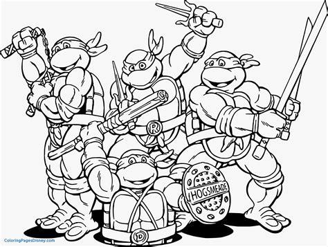 ninja turtles coloring pa dayleswoodcom