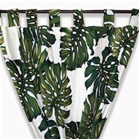 palm tree curtains by designer dean miller
