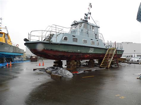 Boat Fuel Prices Vancouver by 1985 Commercial Ferry Crew Utility Power Boat For Sale