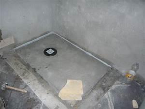 Comment Faire Une Douche Italienne : meilleur fabrication douche italienne comment faire une ~ Nature-et-papiers.com Idées de Décoration