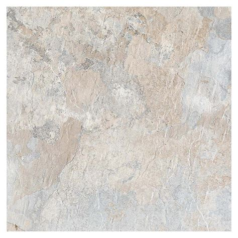 shop style selections 12 in x 12 in beige stone peel and