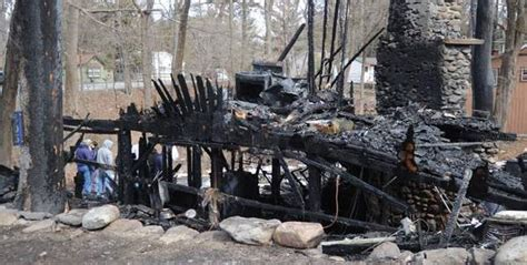 saylors lake home destroyed  suspected arson dogs  cat die news poconorecordcom