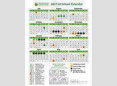 School Year Calendar 201718 School Year Calendar