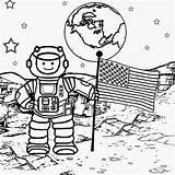 Coloring Pages Solar System Space Colouring Print Children Printable Galaxy Drawing Colour Planet Step Man Deep Moon Sheet Cartoon Sun sketch template