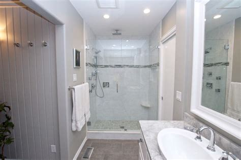 shower remodel cost bathroom contemporary with oversized