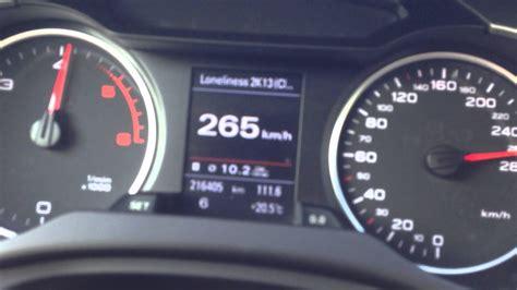 Audi A4 B8 3.0 Tdi 317hp 100-277km/h Top Speed