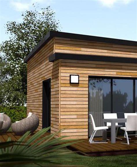 maison en bois moderne mzaol