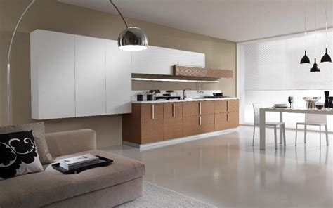 Contemporary Residence With Efficient Use Space Kitchen