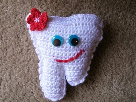 Instant Download Pdf Pattern For Crochet Tooth Fairy Pillow