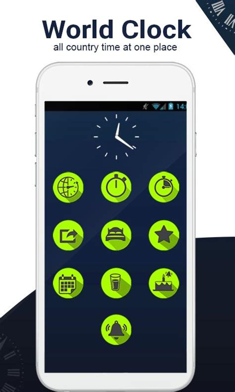 global world clock countries time zones android apk