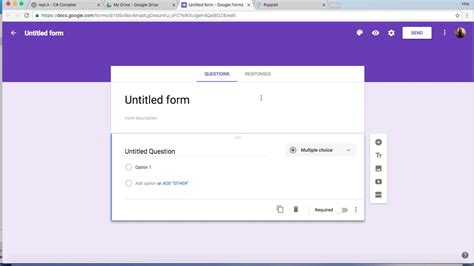 google forms collect email address and username youtube