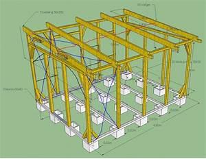 fabriquer une cabane de jardin avec les meilleures With maison en palette plan 15 charpente bois toit plat mzaol