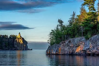 Lake Usa Superior Minnesota Lakes Nature Crag
