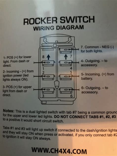 Winch Rocker Switch Jeep Wrangler Forum