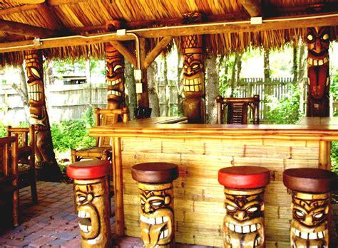 Tiki Bar by Poolside Tiki Bar Homelk