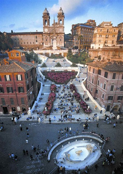 piazza  spagna rome italy  beautiful places