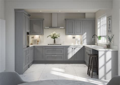 a timeless classic shaker style with an ash
