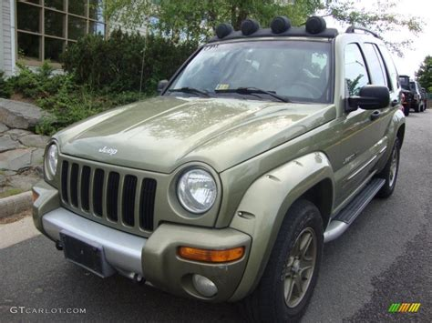green jeep liberty renegade 2002 cactus green metallic jeep liberty renegade 4x4