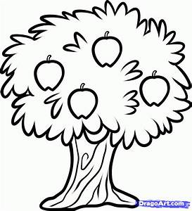 How To Draw A Christmas Tree For Kids - AZ Coloring Pages