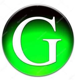 Green Letter G