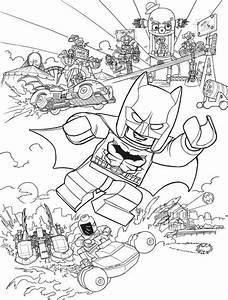Coloring Page Lego Batman Movie Batman Action Coloring