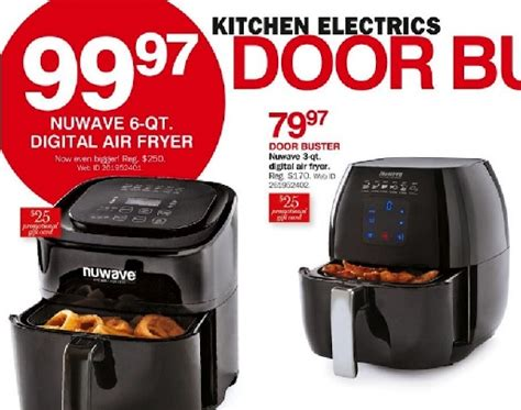 fryer air friday nuwave deals philips funtober bonton airfryer gowise actifry sales