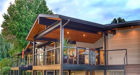 Thus, if one side of your deck is 16 ft (4.9 m), you will only need to mount one post in the center. Code Considerations for Cable Railing | RailFX Blog