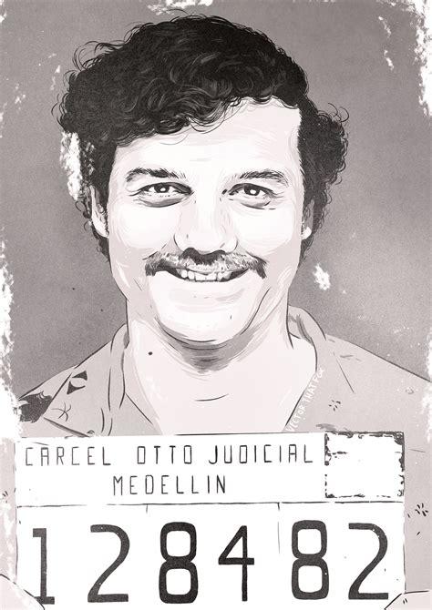 Pablo Escobar Mugshot On Behance