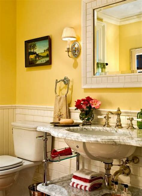 yellow bathroom decorating ideas yellow bathroom design ideas interiorholic com