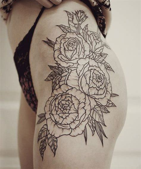 sexy thigh tattoos  women cute designs  ideas  guide