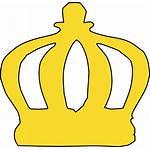 Crown Cartoon Clip Clipart Vector Clker Domain