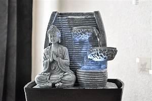 Grande Fontaine D Intérieur : fontaine d 39 int rieur feng shui bouddha senza koto ~ Premium-room.com Idées de Décoration